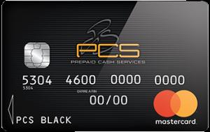 PCS Mastercard carte prepayee